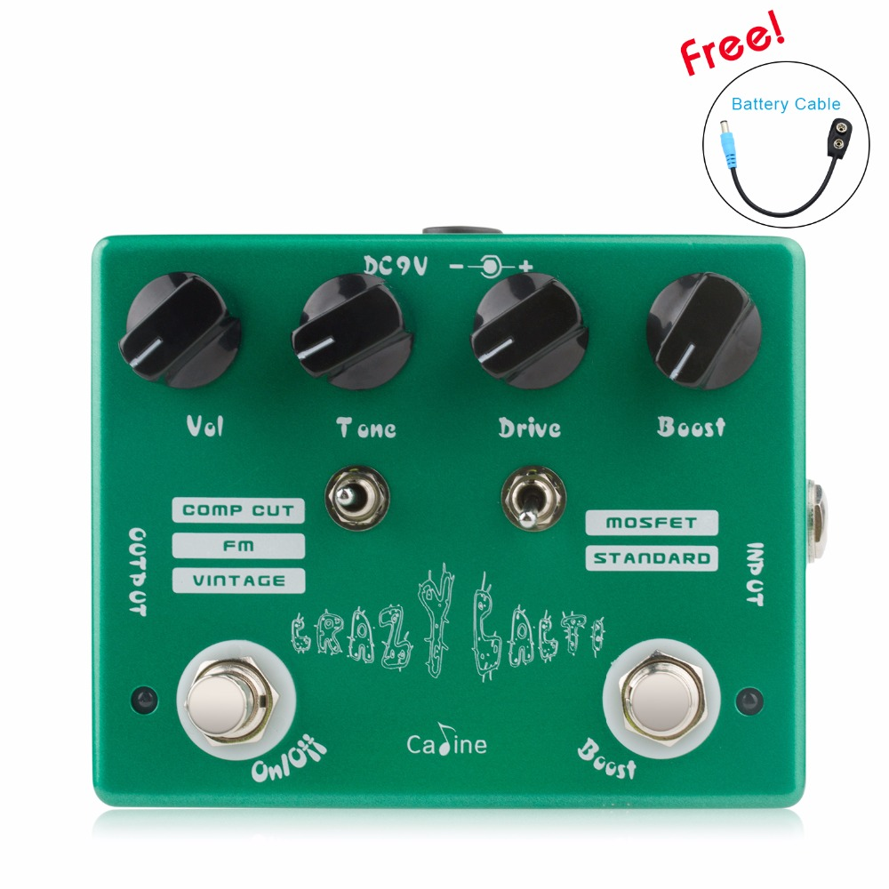 Caline cp20 Guitar Pedal Crazy Cacti True Bypass design With Aluminum Alloy Housing Guitar Accessorie Good