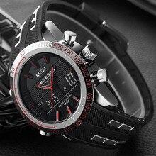 BINZI Digital Sport Watch Men Electronic Military Luxury Male Watches LED Men Clock Casual Brand Wrist Watch Relogio Masculino