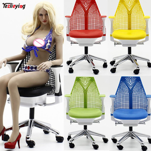 1/6 Scale Accessories Stage Office Swivel Chair Soldier accessories Weapon 5 Colors for 12 Inch Soldier Action Figure Doll Toys