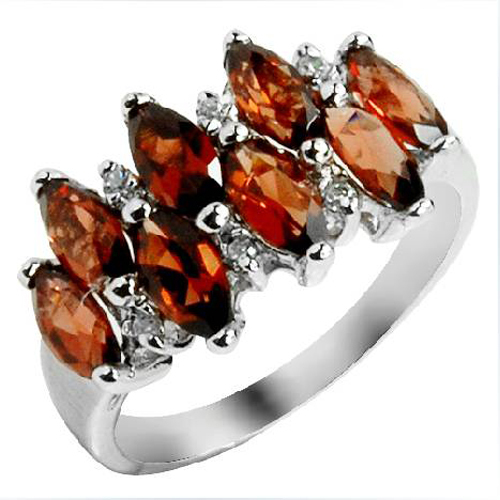 2017 Anillos Qi Xuan_Elegant Dark Red Stone Fashion Woman Rings_S925 Solid Sliver Finger Ring_Manufacturer Directly Sales 2017 Anillos Qi Xuan_Elegant Dark Red Stone Fashion Woman Rings_S925 Solid Sliver Finger Ring_Manufacturer Directly Sales