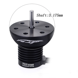 Image 4 - Waterproof F540 3300KV 4370KV Brushless Motor w/ 60A ESC Combo set for Traxxas Axial Redcat HSP 1/10 RC Truck Monster Buggy
