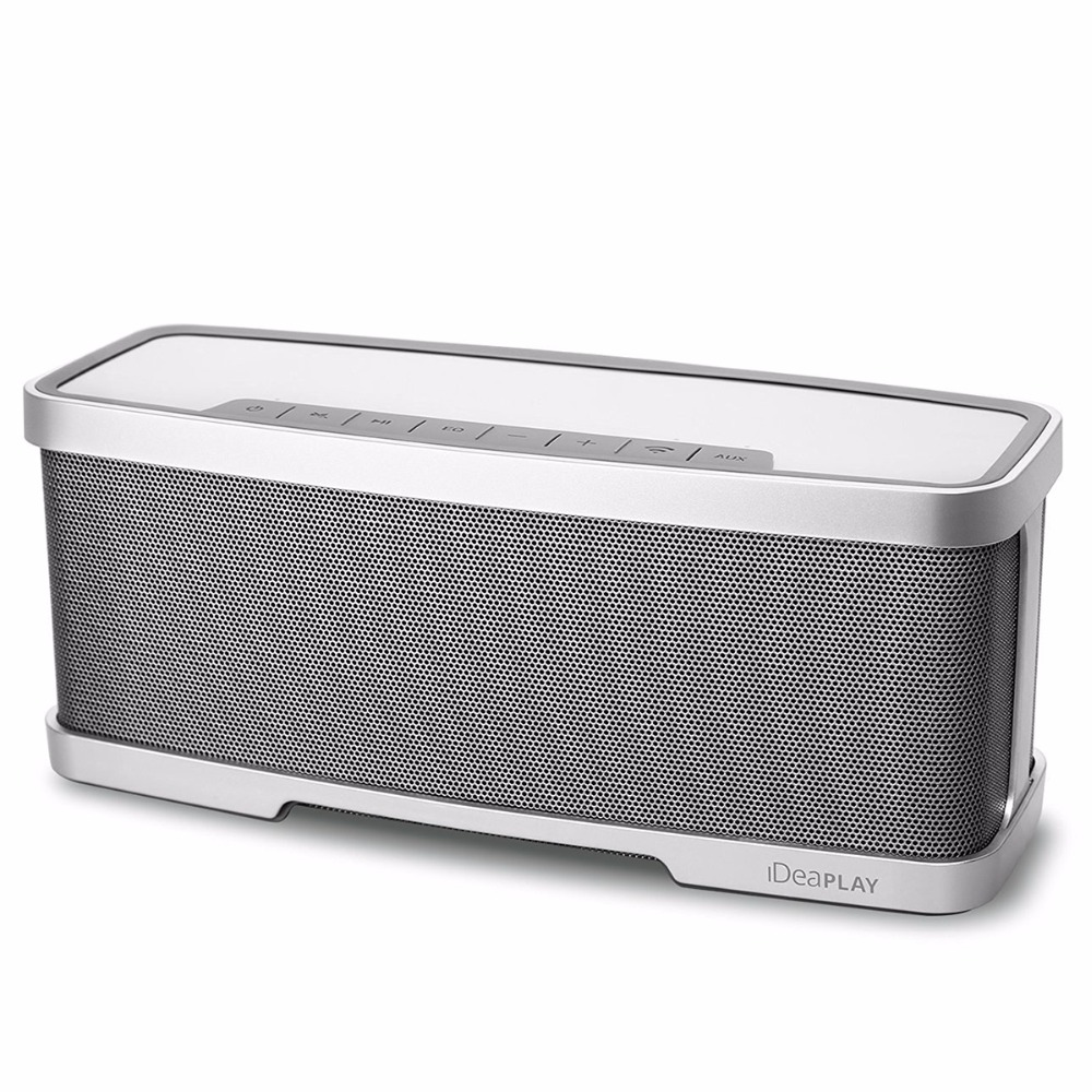 IDeaUSA W200 Bluetooth Wireless Portable Speakers With MIC 4000mAh Battery Stereo Premium Audio From 10W Drivers