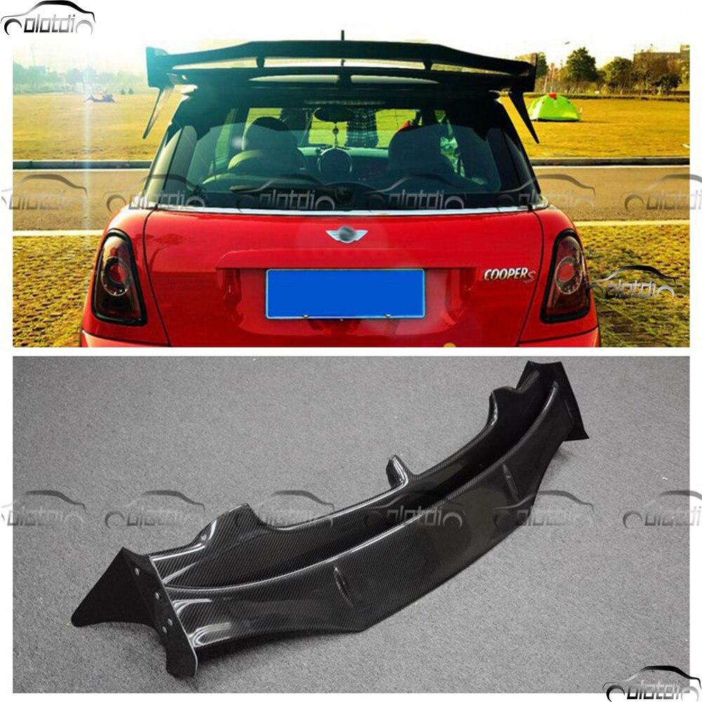 Car Styling Carbon Fiber AG Style Rear Roof Wing Spoiler Mini Splitter For BMW Mini Cooper S R56 07 13