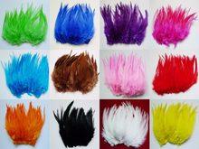 200 pcs Cores Misturadas penas de Galo 10-15 cm plumas de Faisão cauda de frango para o chapéu/máscara do partido dreamcatcher artesanato decorações
