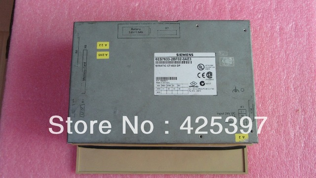 HMI 6ES7633-2BF02-0AE3 A segunda mão e original com boa qualidade 100% testado ok garantia 120 dias