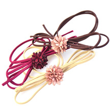 Colorful Floral Elastics Children's Kids Rubber Band Baby Girl Hair Accessories Headdress
