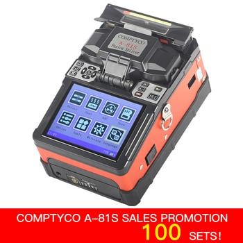 COMPTYCO FTTH Światłowodowy Spawania Maszyna Forniru Optical Fiber Fusion Splicer A-81S Nowy produkt