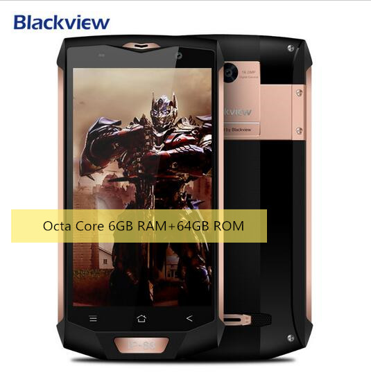 2017 New Blackview BV8000 Pro Double perturbation Waterproof MT6737T 5 0 FHD Android 7 0 Mobile