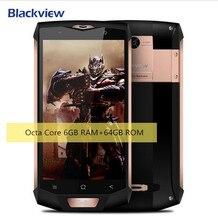 """Новинка 2017 года Blackview BV8000 Pro Двойной возмущений Водонепроницаемый MT6737T 5.0 """"FHD андроид 7.0 мобильный телефон 6 ГБ + 64 ГБ 16MP телефона"""
