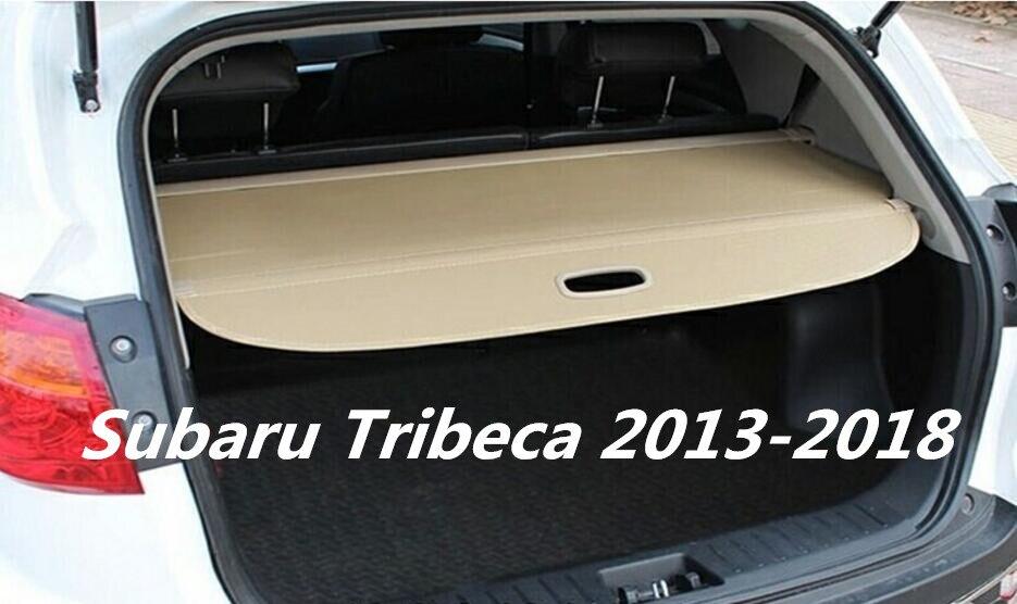 Jioyng Car Rear Trunk Security Shield Cargo Cover For Subaru Tribeca