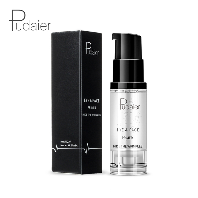 New Makeup Brand Pudaier Easy to Wear Liquid Primer for Face Eye Makeup Moisturizer Brighten Base Primer Cosmetics 2