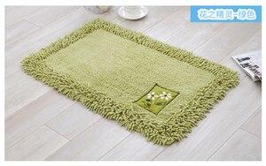 Image 4 - durable bathroom rug set,luxury big size bath tub mat non slip,door bathroom set carpet,bath mats rugs floor,60X90CM, 45X120CM