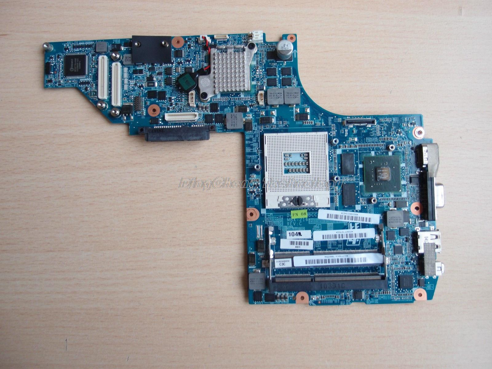 SHELI MBX 216 laptop Motherboard For Sony VPS111FM MBX-216 A1795846A DAGD3AMBCC0 for intel cpu with non-integrated graphics card 216 0728014 00