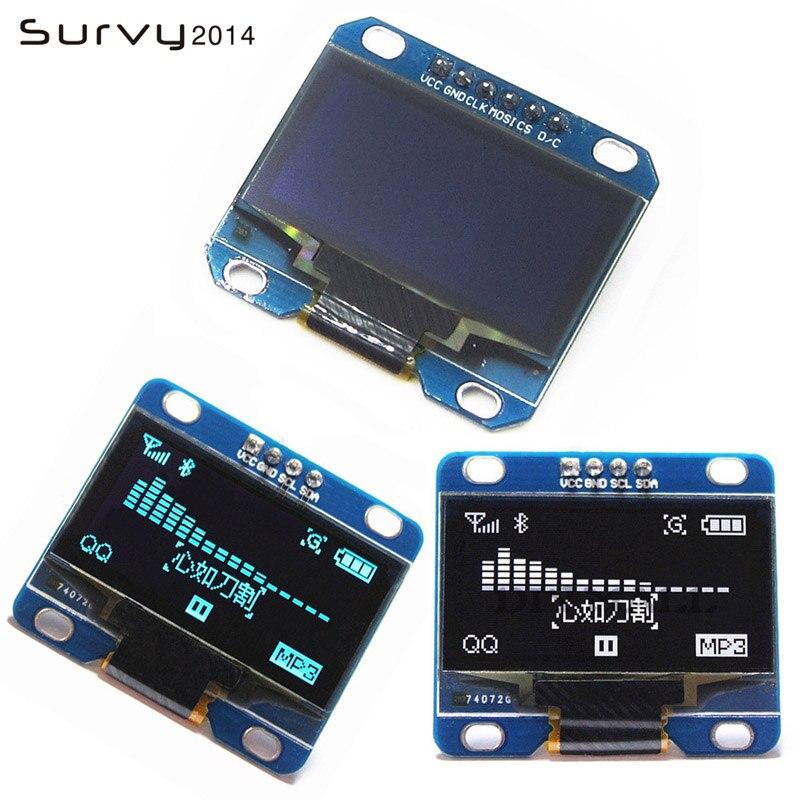 1.3 Inch OLED Module White Color 128X64 OLED LCD LED Display Module 1.3 SPI IIC I2C