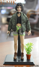 KUMIK 1/6 Soldier Figure Set Korea DIY KMF036 Natalie Portman The killer is not too cold Children Body