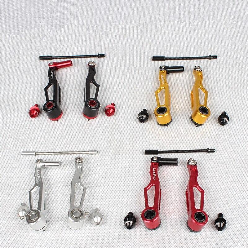 Цена за Тайвань litepro v238 V тормоз для dahon складной велосипед тормоза суппорты Al 7075 чпу велосипед тормоза v набор 3 цвет