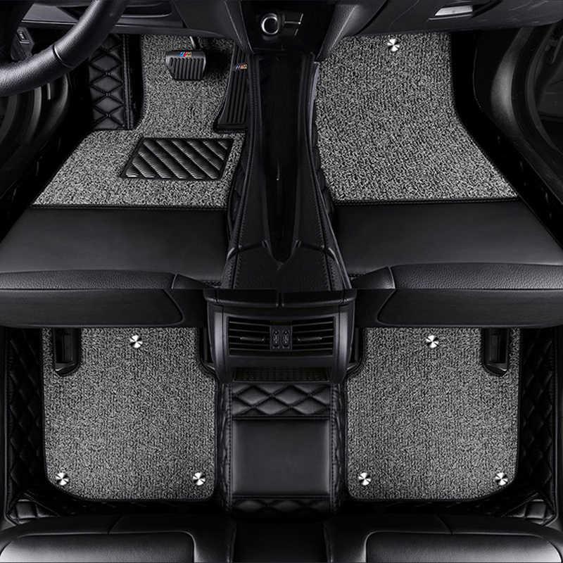 Özel logo araba paspaslar jaguar xf için x tipi f pace E-bisiklet Hız XEL XE XJL F-TYPE XK XFL araba paspasları