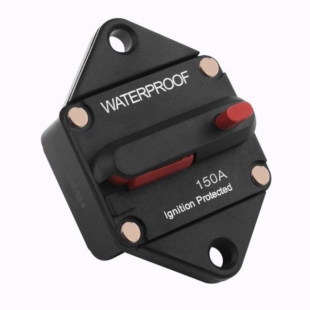 aliexpress com buy dc48v waterproof circuit breaker with manualBuss Hi Amp Manual Reset 150 Amp Circuit Breaker Waterproof Model #17