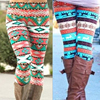 Winter Knit Snowflake Legging 4