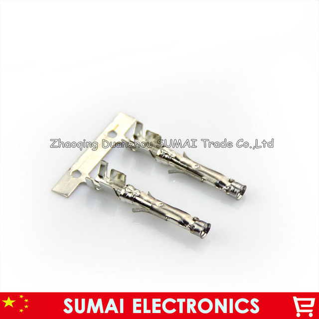 AMP/TE 66601 1 female Crimp terminal for Car,Audio wire terminal for ...