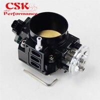 70mm Throttle Body/ TPS Throttle Position Sensor Fits For Honda K20 /Civic/ EP3/ Type R/Integra DC5 Black