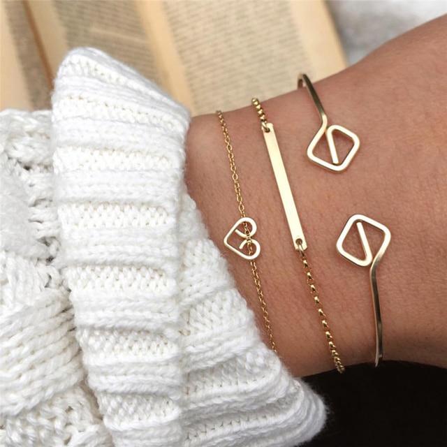 Handmade Bracelet Hammered Indian jewelry Personalized 14 Gold Filled Vintage Customed Tobilleras Pulsera Para Tobillo Bangles