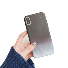 Hard PC Phone Case For iPhone X XS XR XSMAX 8 Plus 7 Plus Case For iPhone 6S Plus 5 5S Ultra Thin Cover Mountain Pattern Cover