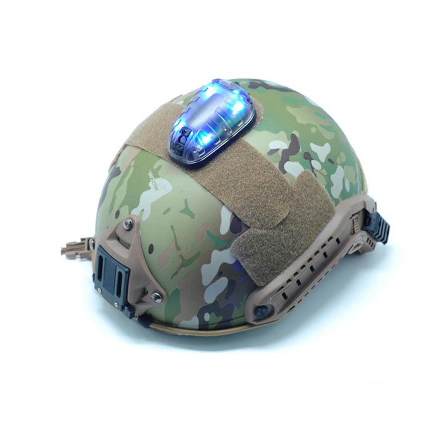 Airsoft tactique chasse FMA hel-star 6 casque sécurité Flash lumière survie lumières BK corps