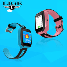 LIGE 2019 New LBS Kids Watches Baby Smart Watch For Children SOS Call Location Finder Locator Tracker Anti Lost Monitor Relogio