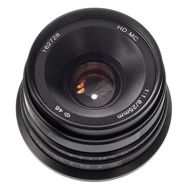 Amazon. Com: zonlai 22mm f1. 8 large aperture manual focus lens.