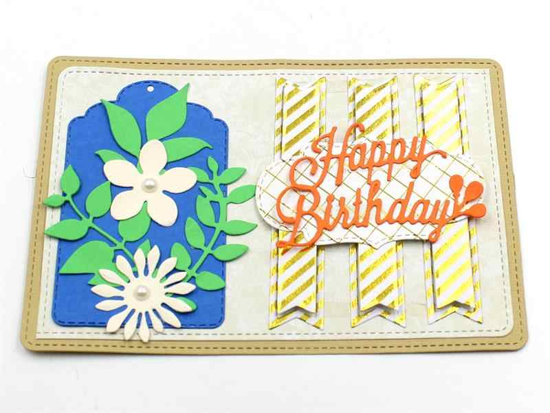 KSCRAFT Frames Metal Cutting Dies Stencils for DIY Scrapbooking Stamp/photo album Decorative Embossing DIY Paper Cards