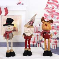 Christmas Doll Toy Xmas Tree Hanging Ornament Pendant Christmas Decoration For Home Natal Window Closet Decor