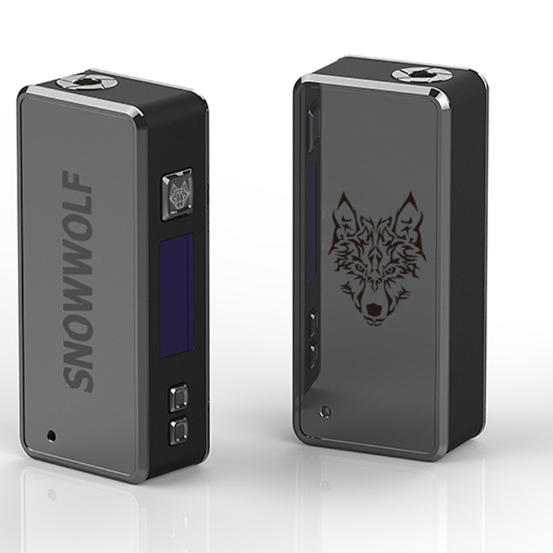 Preorder sigelei Snowwolf 85W Mod Vape Box Mod OLED Display Temperature Control Electronic Cigarette Mod without 18650 battery