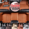 Caso de BOA QUALIDADE piso esteiras do assoalho do carro para BYD F3 L3 G3 G5 G6 S6 S7 3D carro-styling quatro estações tapete do assoalho forro