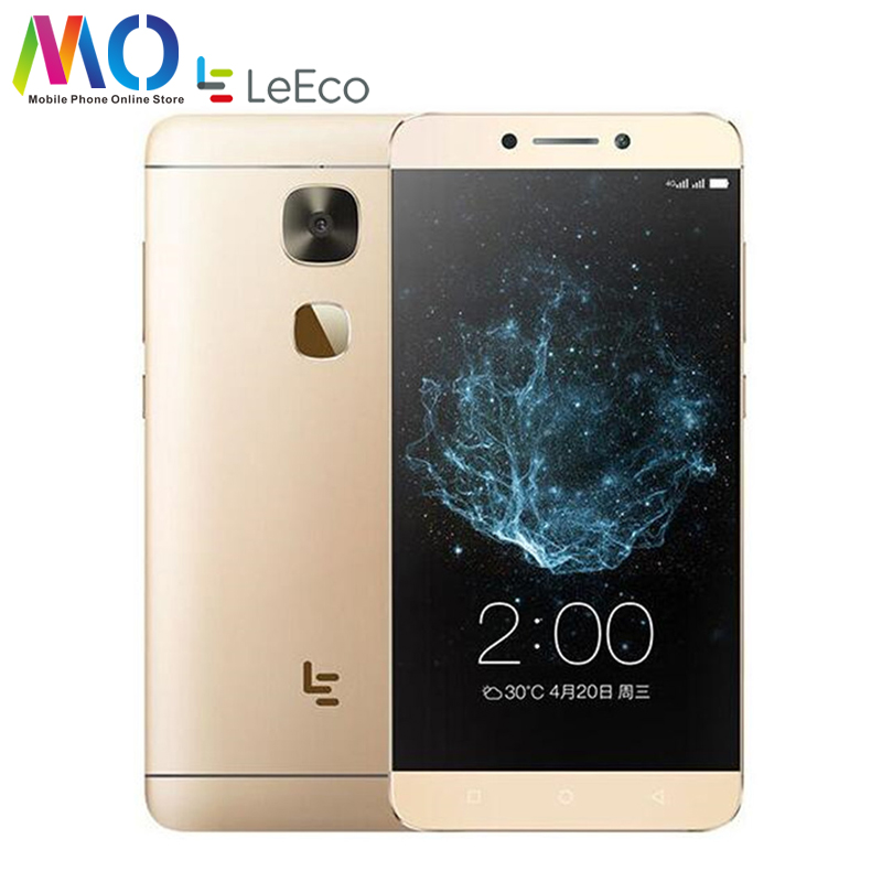 Original New Letv Le 2 X520 4G LTE Mobile Phone 32G ROM Android 6.0 Smart Phone Octa Core 5.5 Inch 16MP Camera Fingerprint 1080P
