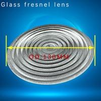 Diameter 130mm 1000W plano convex glass fresnel lens for lamp and LED stage light borosilicate material fresnel lens