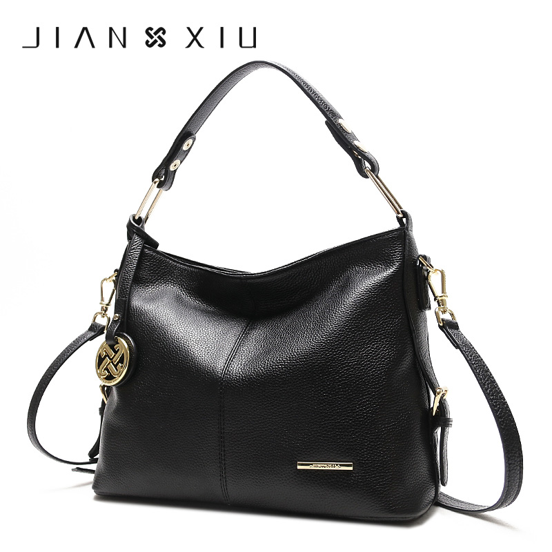 JIANXIU Crossbody Bags for Women Genuine Leather Luxury Handbags Women Bags Designer Shoulder Messenger Tote Bag Handbag X12 chispaulo 2017 designer brand cowhide women genuine leather handbag fashion cacual women s shouldercrossbody messenger bags x12