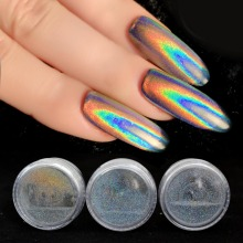 0.2g Holographic Nail Powder Unicorn Nail Glitter Holographic Powder Rainbow Holo Chrome Nail Powder Nails Art SF2014