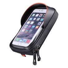 Новый Водонепроницаемый 6,0 дюймовый велосипед для крепления мобильного телефона на велосипед Телефон подставка держатель мотоцикл руль сумка для крепления велосипед аксессуары