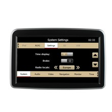 For WINCE 6.0 Mercedes C-class 2014 onward car radio gps with BT Phone Book/BT Music/RDS/FM/Bluetooth/USBIPod/TXT files browsing