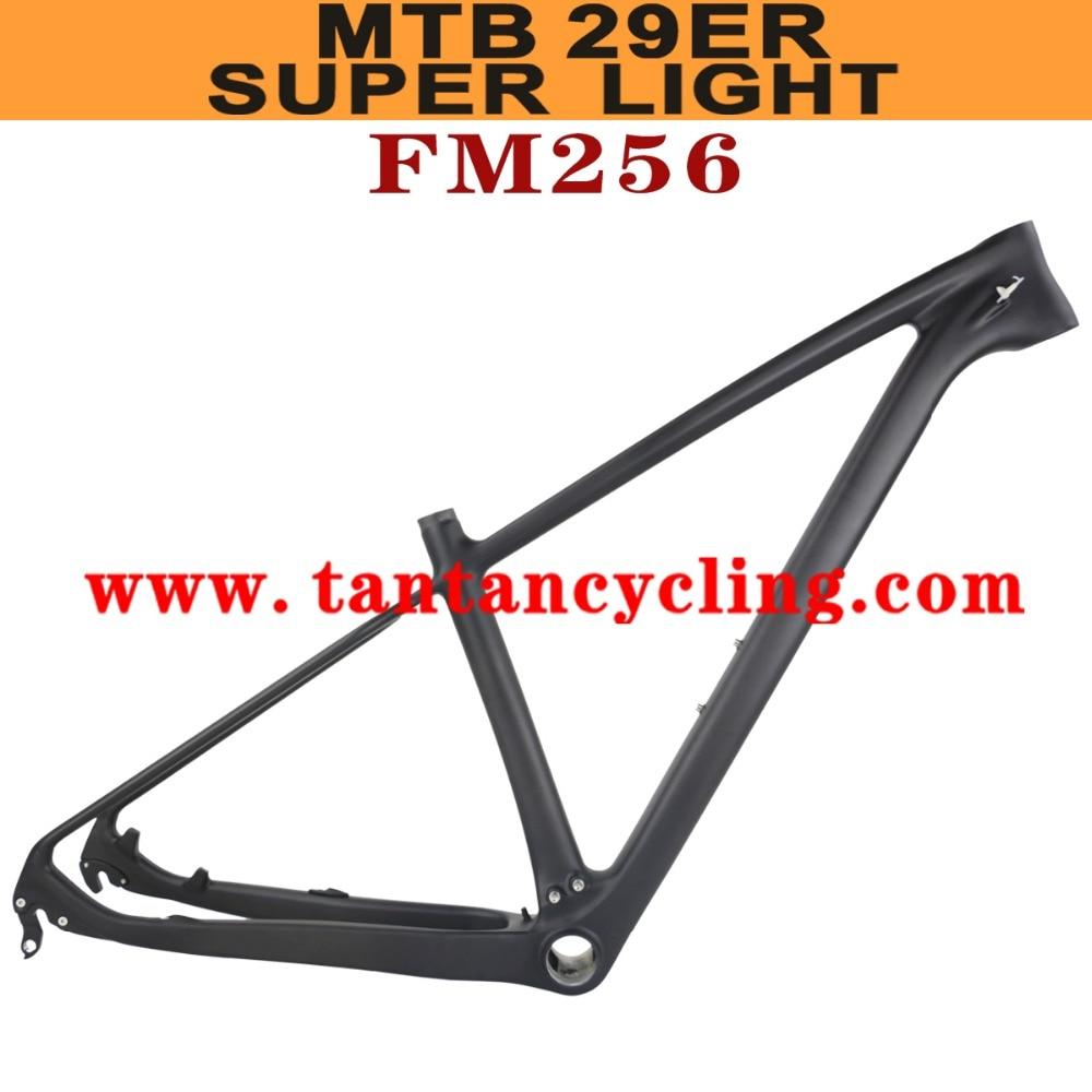 SGS Test Super Light 29er Full Carbon MTB Frame,toray T800 Carbon Frame With 15.5inch 17.5 Inch 19inch 21inch MTB Frame FM256