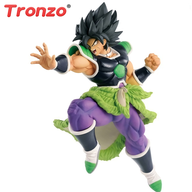 Tronzo Dragon Ball SUPER SOLDADOS FINAIS-O FILME Broly Figura Banpresto Originais Broly Brolly PVC Action Figure Toys in estoque
