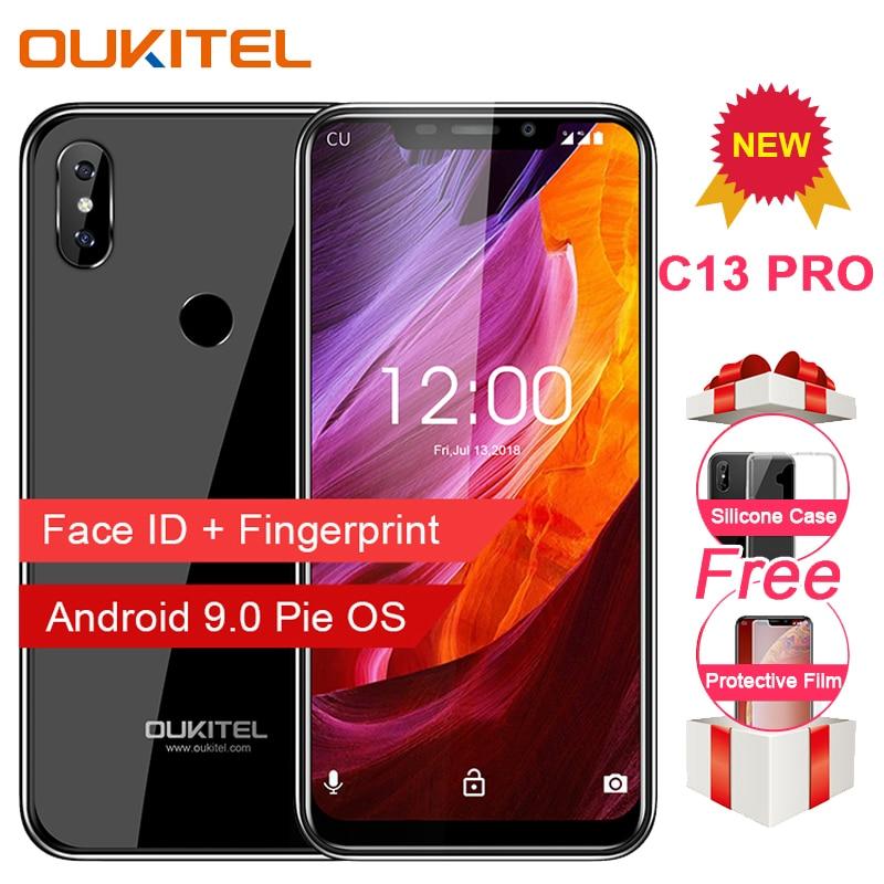 OUKITEL C13 Pro 5G/2.4G WIFI Android 9.0 6.18