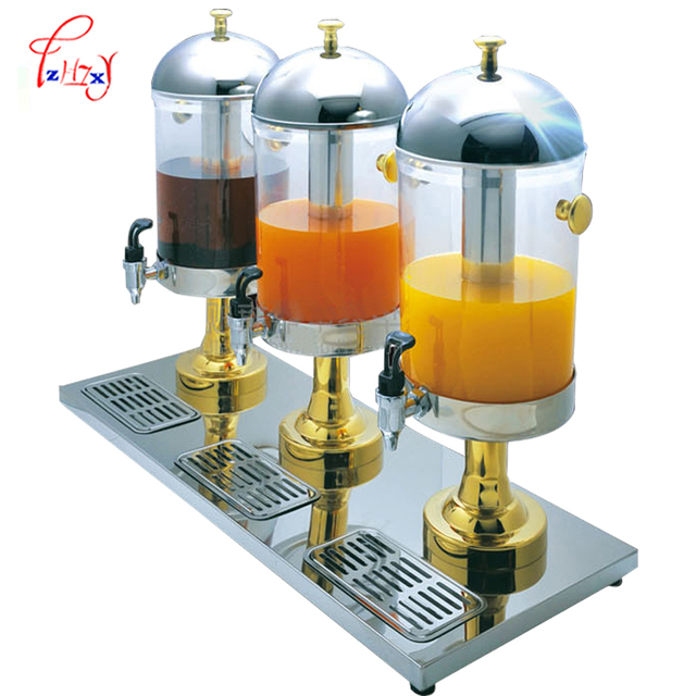 Business 18L juice dispenser ZCF303A/B Cold Drinks Milk Tea Fruit juice containers Electric fruit vegetable drinking machine 1pc