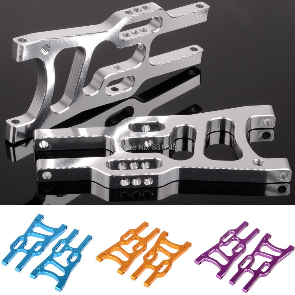 Front Lower Suspension Arm 06011 Upgrade Part 106019 B For 1/10 RC Car HSP Redcat Himoto Racing hsp 860002 60004n upgrade parts for 1 8 scale models front upper suspension arm truck upgrade part cnc rc car remote control car