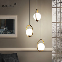 Modern LED Lighting Nordic Style Bedside Simple Pendant Lamp Coffee Shop Novelty Creative Decor Pendant Lights Loft Hanging Lamp
