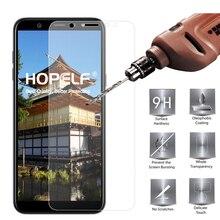 กระจกนิรภัยสำหรับ Samsung Galaxy A6 Plus 2018 ป้องกันหน้าจอ 9 H 2.5D โทรศัพท์ป้องกันกระจกสำหรับ Samsung Galaxy A6 2018 แก้ว