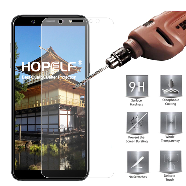 Tempered Glass for Samsung Galaxy A6 Plus 2018 Screen Protector 9H 2.5D Phone Protective Glass for Samsung Galaxy A6 2018 Glass