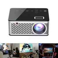 T260 Universal 116 Inch Portable Mini LED Projector 320 x240 Resolution Multimedia with Touch Button for Home and Entertainment