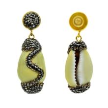 YM SHIPIN shell earrings for women summer fashion jewelry 2019 bohemian style Natural conch shape drop
